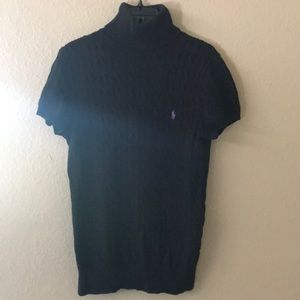 Ralph Lauren Sport Black Turtleneck Sweater